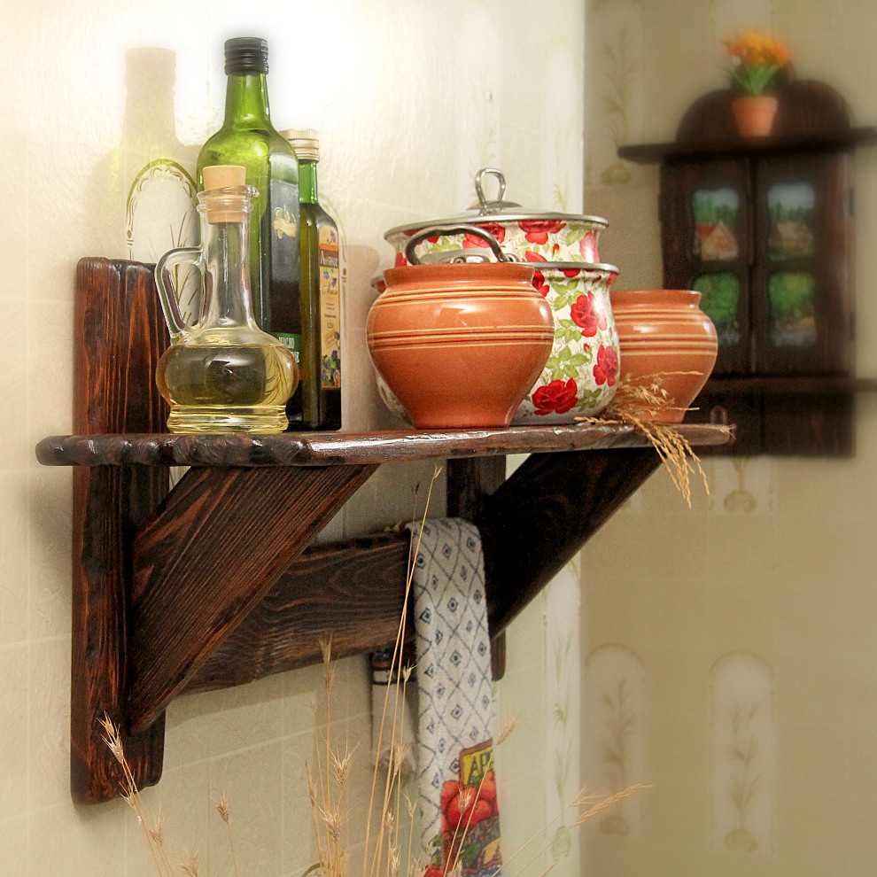 Декоративная полочка на кухню своими руками 6